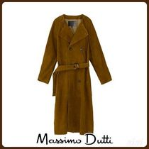 MassimoDutti♪LIMITED EDITION SUEDE TRENCH COAT