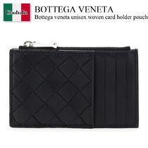 Bottega veneta unisex woven card holder pouch 15