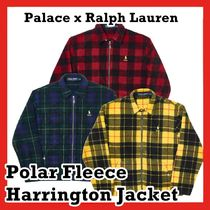 Palace x Ralph Lauren Polar Fleece Harrington Jacket FW 18