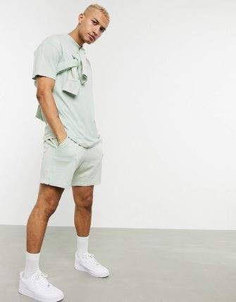 Nike セットアップ 大人気★NIKE★JUST DO IT WASHED T-SHIRTS & SHORTS セット(5)