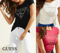 GUESS*EMBELLISHED LOGO TEE*定番人気のロゴTシャツ♪
