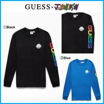 コラボ 商品!! ☆Guess x J Balvin☆ Smile Long Sleeve T-Shirt