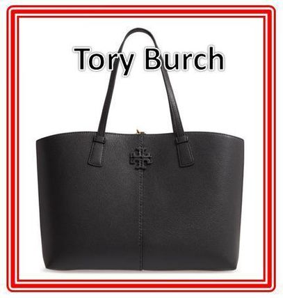 Tory Burch マザーズバッグ 関税送料込 TORY BURCH McGraw Leather Tote