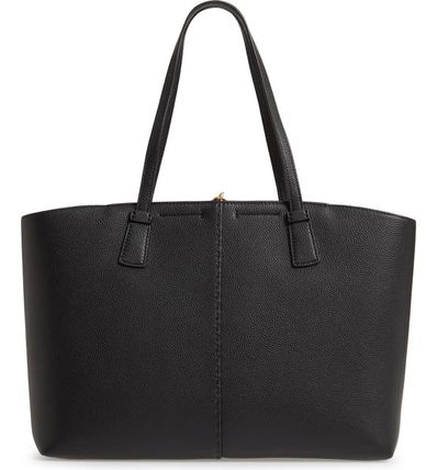 Tory Burch マザーズバッグ 関税送料込 TORY BURCH McGraw Leather Tote(4)