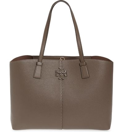 Tory Burch マザーズバッグ 関税送料込 TORY BURCH McGraw Leather Tote(2)