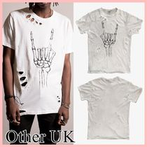 Other UK(アザーユーケー) Tシャツ・カットソー Other UK  FU THRASHER 半袖 Tシャツ white 送料込み