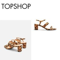 ☆TOPSHOP☆ DITA BLACK STRAP SANDALS サンダル