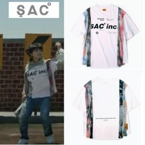 【SAC】DYED CUT T-SHIRTS WHITE ★Seventeen Dino 着用★