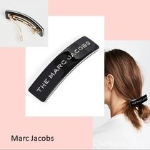 ☆Marc Jacobs☆The Barrette モノトーン ロゴストーンバレッタ