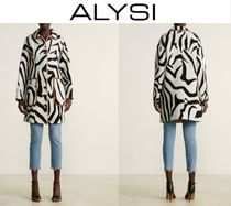 [関税・送料込] ALYSI☆Zebra Oversized Coat