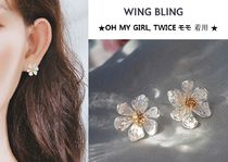 WING BLING★OH MY GIRL, TWICE モモ 着用★ARTE EARRING