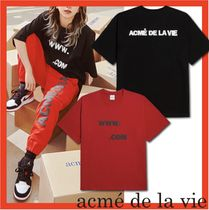 TWICE着用☆ADLV☆BIG LOGO EMBO SHORT SLEEVE T-SHIRT☆2色☆