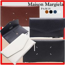 ★関税込★MAISON MARGIELA★leather wallet with flap and zip