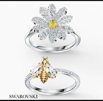 【SWAROVSKI】ETERNAL FLOWER リングセット