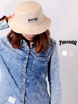 THRASHER スラッシャー FLAME LOGO TWILL BUCKET HAT バケハ
