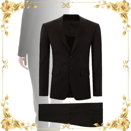D SQUARED2 スーツ 関税込み◆LONDON FIT SUIT WITH CRYSTALS
