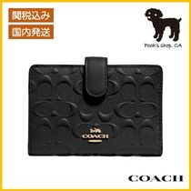 【COACH】Medium Corner Zip 折財布◆国内発送◆