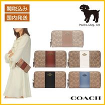 【COACH】Accordion ZipWallet In Colorblock長財布◆国内発送◆