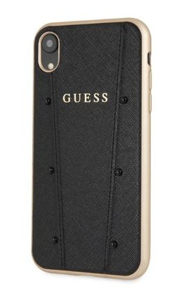 Guess スマホケース・テックアクセサリー 【GUESS】iPhone X/XS/XR/XS MAX Kaia Collection レザーケース(4)