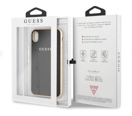 Guess スマホケース・テックアクセサリー 【GUESS】iPhone X/XS/XR/XS MAX Kaia Collection レザーケース(6)