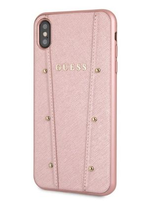 Guess スマホケース・テックアクセサリー 【GUESS】iPhone X/XS/XR/XS MAX Kaia Collection レザーケース(7)