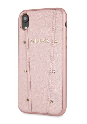 Guess スマホケース・テックアクセサリー 【GUESS】iPhone X/XS/XR/XS MAX Kaia Collection レザーケース(10)