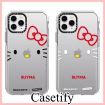 Casetify × Hello Kitty Face iPhoneケース 文字入れ可 2種