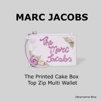 MARC JACOBS☆The Printed Cake Box Top Zip Multi Wallet☆