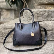 Michael Kors(マイケルコース) Mercer Gallery Pebbled Satchel