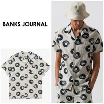 【BANKS JOURNAL】☆日本未入荷☆TY WILLIAMS BEING S/S WOVEN