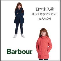 Barbour(バブアー) キッズアウター UK発【BARBOUR】バブアー プロムナードキッズ防水ジャケット2色