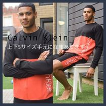 Calvin Klein*メンズ*ロゴスウェットセットアップ*送関税込み
