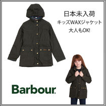 Barbour(バブアー) キッズアウター UK発【BARBOUR】バブアーキッズハムレットワックスジャケット