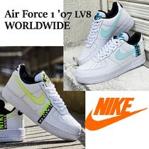 完売前に!【NIKE】☆Air Force 1 '07 LV8 WW☆ WHITE/VOLT/BLACK