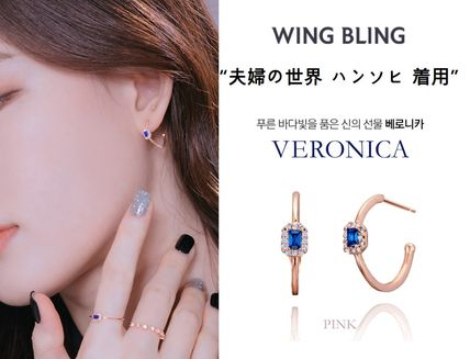 wing bling ピアス WING BLING★夫婦の世界 ハンソヒ 着用★VERONICA イヤリング