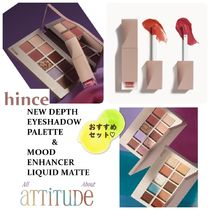 20SS☆hince☆セット商品★EYESHADOW PALETTE & LIQUID MATTE