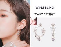 WING BLING★TWICEモモ着用★花びらが舞う  イヤリング