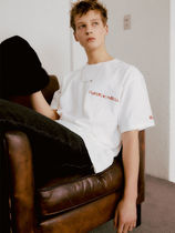 Andersson Bell X Wconcept HEART LOGO EMBROIDERY T-SHIRTS