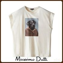MassimoDutti♪GRAPHIC T-SHIRT WITH DOG DESIGN