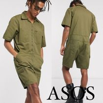 ■ASOS■ One Above Another デニム ショートジャンプスーツ