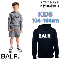 BALR(ボーラー) キッズ用トップス ★VIPSALE★BALR.BRAND LOGO HOODIE KIDS 国内発送 関税込み