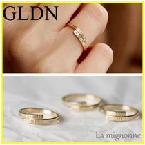 送料込*GLDN*Personalized Memoire Ring☆カスタマイズOK☆