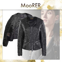 【20SS NEW】 MooRER_women / ANASTASIA-RG / BLACK
