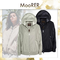 【20SS NEW】 MooRER_women / GUENDALINA-STP /GRAY/WHITE/BLACK