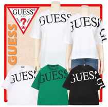人気☆GUESS☆Semi-Over Big Print☆Tシャツ☆(SHORT)