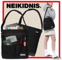 NEIKIDNIS(ネイキドニス) ショルダーバッグ・ポシェット ☆韓国の人気☆NEIKIDNIS☆045CPB02 CANVAS POCKET BAG☆