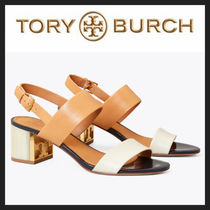 [TORY BURCH] ロゴがオシャレ♪ Gigi Two-Tone Sandal