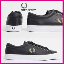 Fred Perry  ♠ レザートレーナー