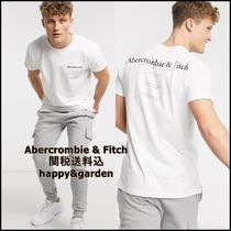Abercrombie & Fitch★関送込半袖 バックロゴ Tシャツ(白)