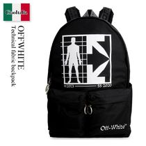 Offwhite Technical fabric backpack